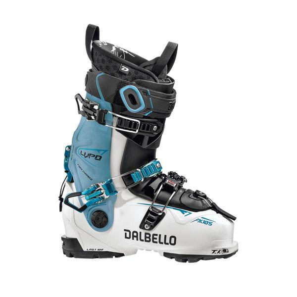 Picture of DALBELLO APLINE SKI BOOTS LUPO AX 105 W BLUE/WHITE FOR WOMEN
