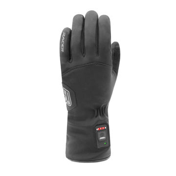 Picture of RACER HEATED SKI GLOVES E-GLOVE 3 BLACK