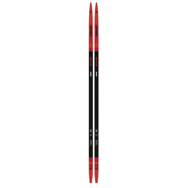 Picture of ATOMIC CROSS COUNTRY SKIS REDSTER C9 CARBON SKINTEC SOFT PSP RED/BLACK