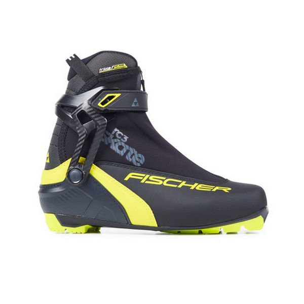 Picture of FISCHER CROSS COUNTRY SKI BOOTS RC3 SKATE BLACK/YELLOW FOR MEN