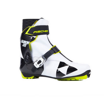 Picture of FISCHER CROSS COUNTRY SKI BOOTS CARBONLITE SKATE WS WHITE/BLACK FOR WOMEN
