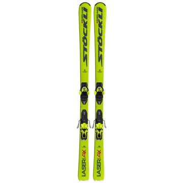Picture of STOCKLI ALPINE SKIS LASER AX YELLOW 2020 (WITH BINDINGS)
