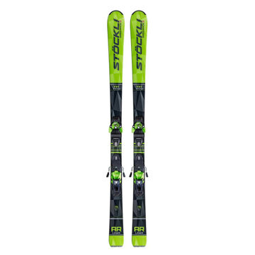 Picture of STOCKLI ALPINE SKIS LASER AR LIME/BLACK 2020 (WITH BINDINGS)
