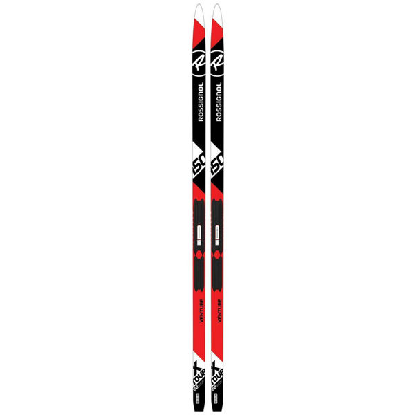 Picture of ROSSIGNOL CROSS COUNTRY SKIS XT VENTURE JR WAXLESS / TOUR JR FOR JUNIORS (WITH BINDINGS)