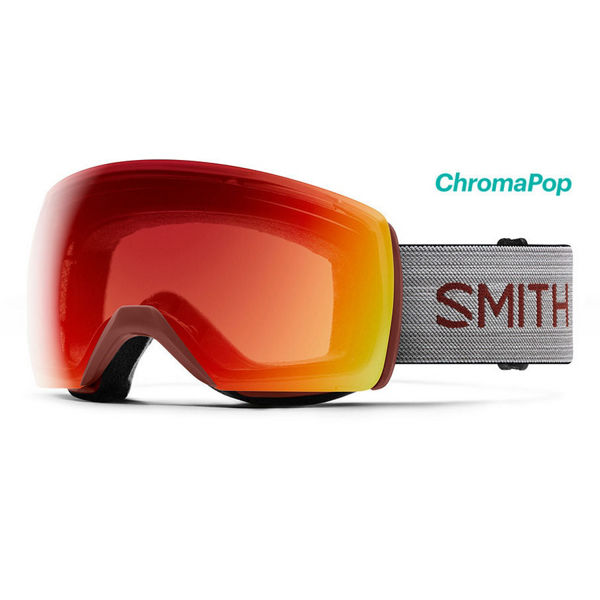 Image sur LUNETTES DE SKI ALPIN SMITH SKYLINE XL OXIDE CHROMAPOP PHOTOCHROMIQUE RED
