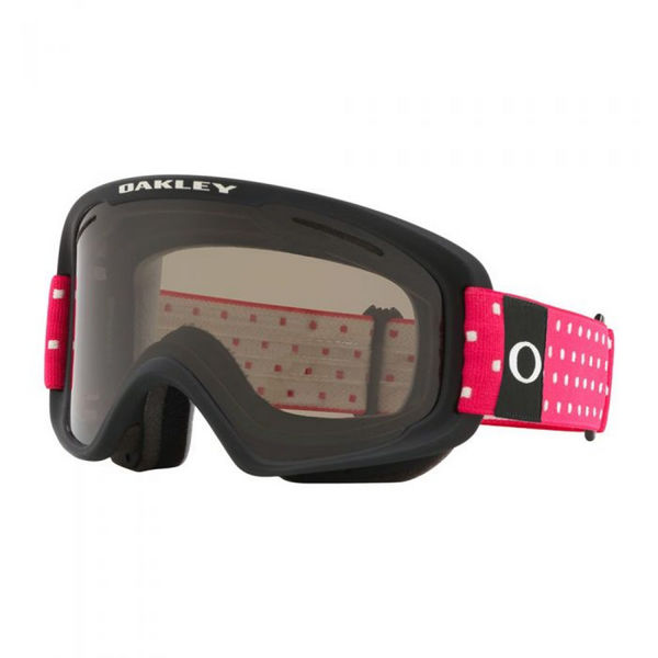 Picture of OAKLEY ALPINE SKI GOGGLES O-FRAME 2.0 PRO XM BLOCKOGRAPHY GREY PINK W/DARK GREY & PERSIMMON FOR JUNIORS