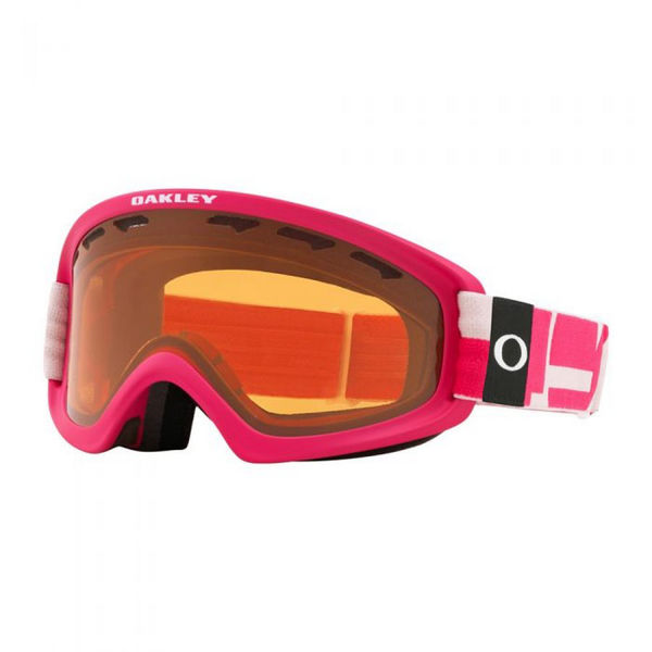 Picture of OAKLEY ALPINE SKI GOGGLES O-FRAME 2.0 PRO XS ICONOGRAPHY PINK W/PERSIMMON & DARK GREY FOR JUNIORS