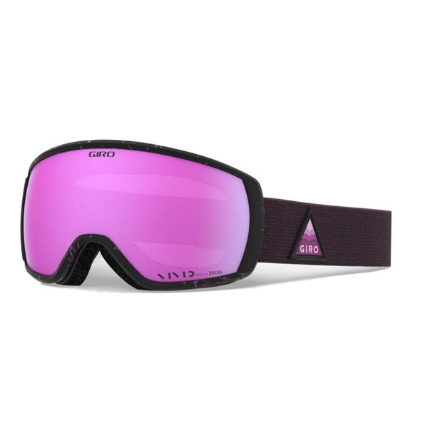 Picture of GIRO ALPINE SKI GOGGLES FACET PINK ARROW MTN W/VIVID PINK FOR WOMEN