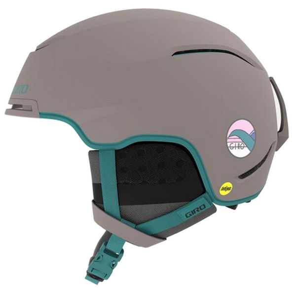 Picture of GIRO ALPINE SKI HELMET TERRA MIPS MATTE CHARCOAL HANNAH FOR WOMEN