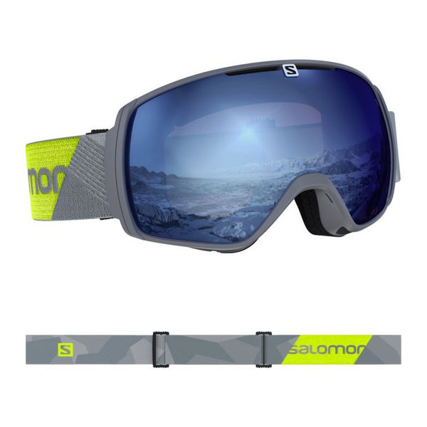 Picture of SALOMON ALPINE SKI GOGGLES XT-ONE GREY NEON/UNI SKYB