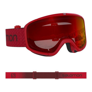 Picture of SALOMON ALPINE SKI GOGGLES FOUR SEVEN MATADOR/UNIVERSAL MID RED