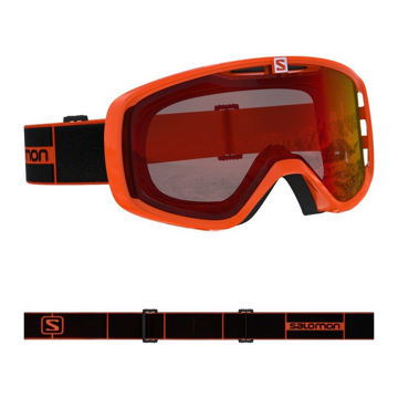Picture of SALOMON ALPINE SKI GOGGLES AKSIUM FLAME/UNI MID RED
