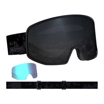 Picture of SALOMON ALPINE SKI GOGGLES LO FI BLACK TIE&DYE/SOL BLACK