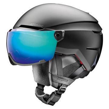 Picture of ATOMIC ALPINE SKI HELMET SAVOR AMID VISOR HD BLACK