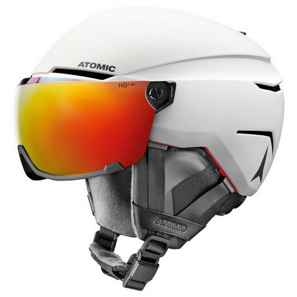 Picture of ATOMIC ALPINE SKI HELMET SAVOR AMID VISOR HD WHITE