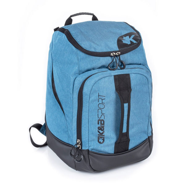 Image sur SAC DE SKI ALPIN K&B JUNIOR BACKPACK COPPER BLEU