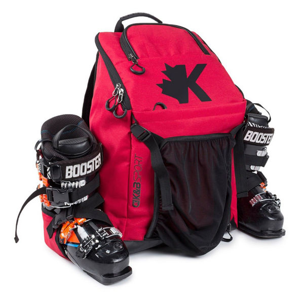 Picture of K&B ALPINE SKI BAG WHISTLER BOOT PACK RED
