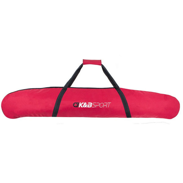 Picture of K&B ALPINE SKI BAG FULLY PAD SKI SHORT 170CM RED