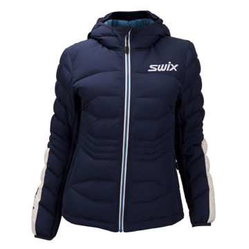 Picture of SWIX CROSS COUNTRY SKI JACKET DYNAMIC DOWN SPECIAL NORWAY NAVY FOR WOMEN