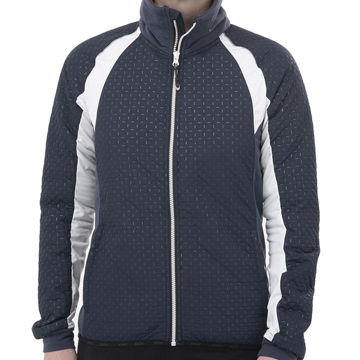 Picture of SWIX CROSS COUNTRY SKI JACKET MENALI ULTRA QUILTED NAVY FOR WOMEN