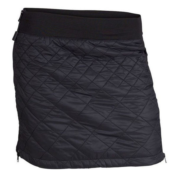 Picture of SWIX CROSS COUNTRY SKI SKIRT MENALI ULTRA QUILTED SKIRT BLACK FOR WOMEN