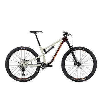 Picture of ROCKY MOUNTAIN MOUNTAIN BIKE INSTINCT CARBON 50 BEIGE/RED 2020