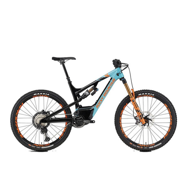 Picture of ROCKY MOUNTAIN MOUNTAIN BIKE ALTITUDE POWERPLAY CARBON 90 RALLY EDITION BLUE/ORANGE 2020