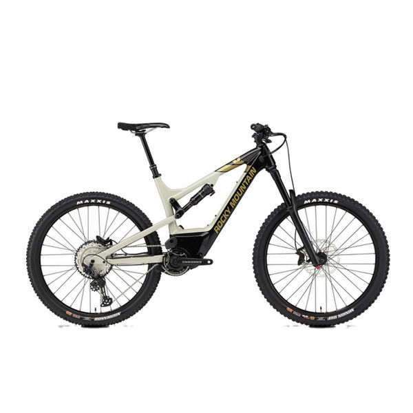Picture of ROCKY MOUNTAIN MOUNTAIN BIKE ALTITUDE POWERPLAY CARBON 50 BEIGE/BLACK 2020