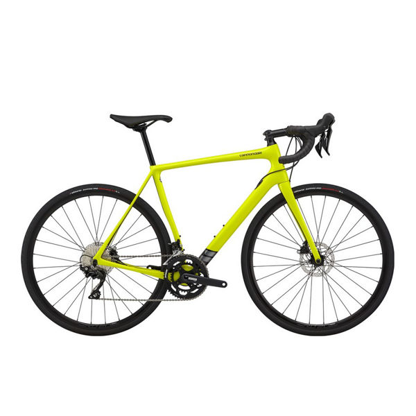 Picture of CANNONDALE ROAD BIKE SYNAPSE CARBON 105 YELLOW 2020