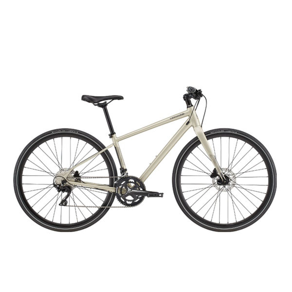 Picture of CANNONDALE HYBRID BIKE QUICK DISC WF 1 CHAMPAGNE 2020