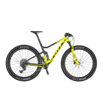 Picture of SCOTT MOUNTAIN BIKE SPARK RC 900 WORLD CUP AXS BLACK /YELLOW 2020