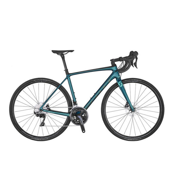 Picture of SCOTT ROAD BIKE CONTESSA ADDICT 25 DISC TURQUOISE 2020 FOR WOMEN