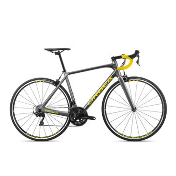 Picture of ORBEA ROAD BIKE ORCA M30 GREY/YELLOW 2020