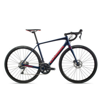 Picture of ORBEA ROAD BIKE AVANT M20 TEAM-D MARINE BLUE/RED 2020