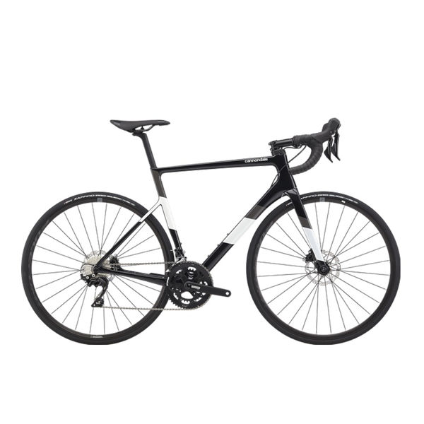 Picture of CANNONDALE ROAD BIKE SUPERSIX EVO CARBON DISC 105 BLACK PEARL 2020