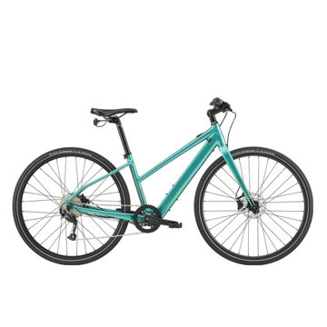 Picture of CANNONDALE HYBRID BIKE ELECTRIC QUICK NEO 2 SL REMIXTE TURQUOISE 2020 FOR WOMEN