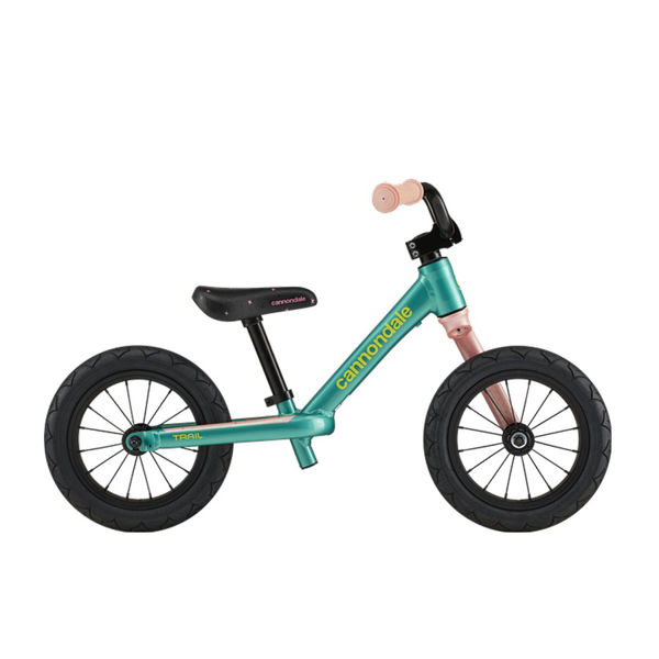 "Picture of CANNONDALE BIKE KIDS TRAIL 12"" BALANCE TURQUOISE 2020 FOR JUNIORS"
