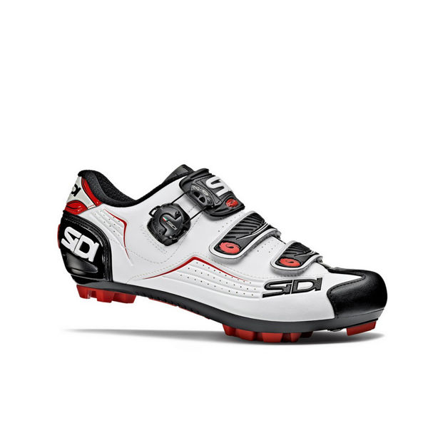 Picture of SIDI BIKE SHOES TRACE WHITE/BLACK/RED FOR MEN