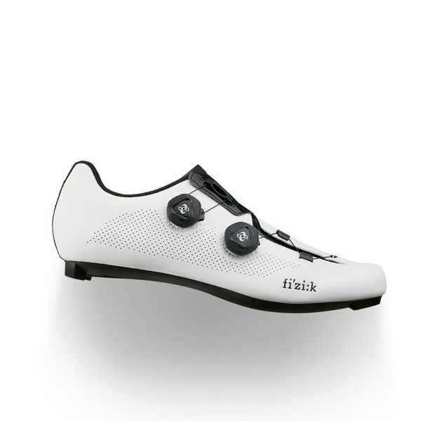 Picture of FIZIK BIKE SHOES R3 ARIA WHITE/BLACK FOR MEN