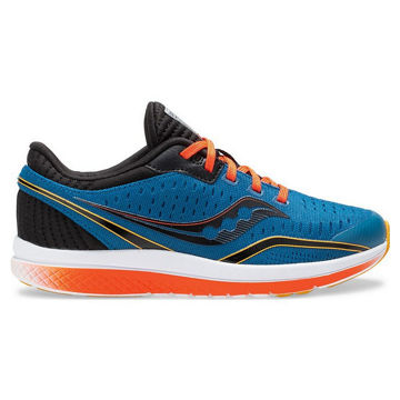 Picture of SAUCONY ROAD RUNNING SHOES KINVARA 11 KIDS SEAPORT FOR JUNIORS