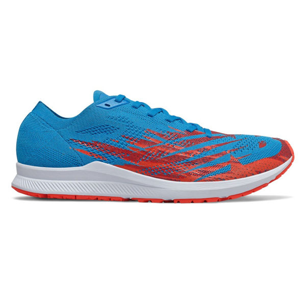 Picture of NEW BALANCE ROAD RUNNING SHOES M1500 V6 D BLUE/RED FOR MEN