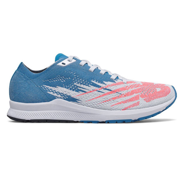 Picture of NEW BALANCE ROAD RUNNING SHOES W1500 V6 B BLUE/WHITE FOR WOMEN