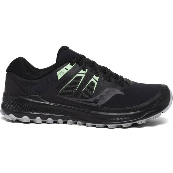 Picture of SAUCONY ROAD RUNNING SHOES PEREGRINE ICE + WMN BLACK FOR WOMEN