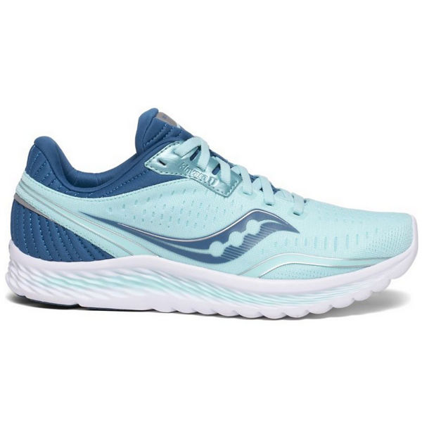 Picture of SAUCONY ROAD RUNNING SHOES KINVARA 11 AQUA/BLUE FOR WOMEN