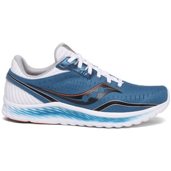 Picture of SAUCONY ROAD RUNNING SHOES KINVARA 11 BLUE/BLACK FOR MEN