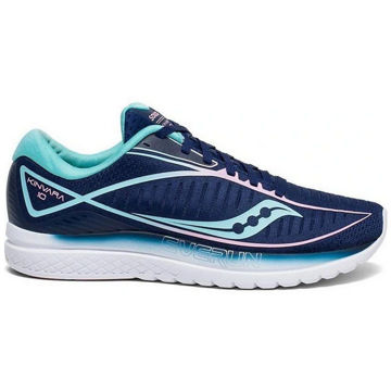 Picture of SAUCONY ROAD RUNNING SHOES KINVARA 10 NAVY/MINT FOR WOMEN