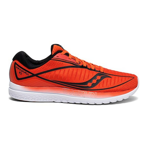 Picture of SAUCONY ROAD RUNNING SHOES KINVARA 10 ORANGE/BLACK FOR MEN