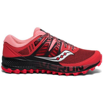 Picture of SAUCONY ROAD RUNNING SHOES PEREGRINE ISO HIBISCUS/BLACK FOR WOMEN