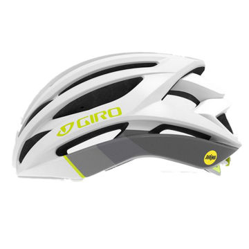 Picture of GIRO BIKE HELMET SEYEN MIPS WHITE/GREY/CITRON