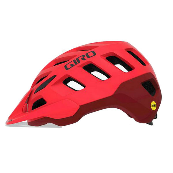 Picture of GIRO BIKE HELMET RADIX MIPS MAT RED/DAK RED